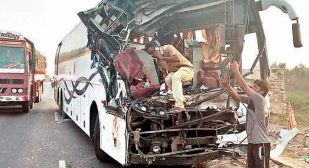 andhra bus accident
