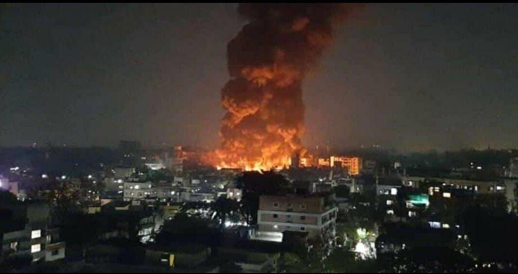 major fire breakout in Pune