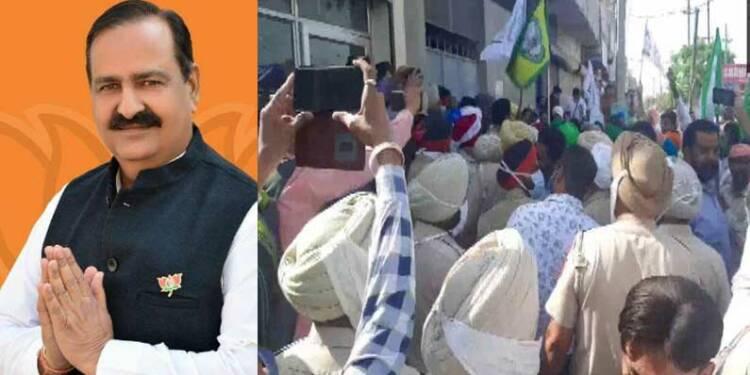 attack on BJP MLA