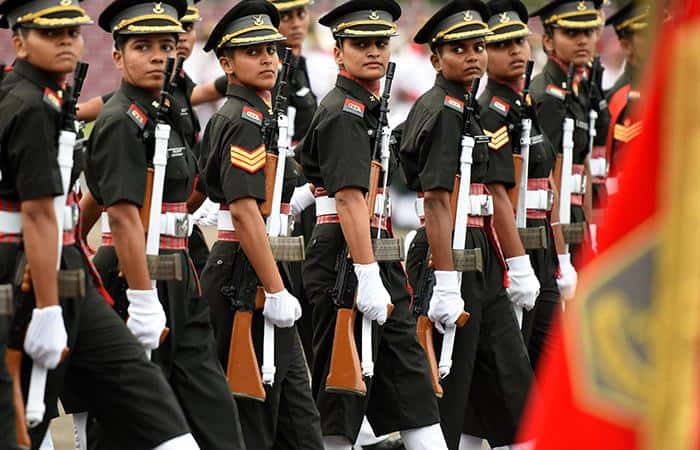 The first batch of women military police recruited: Indian Army - Prag News