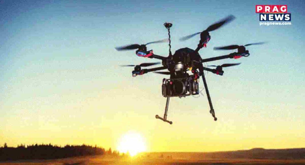 drone in jammu kashmir