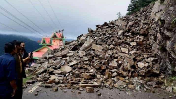 Landslide Sikkim